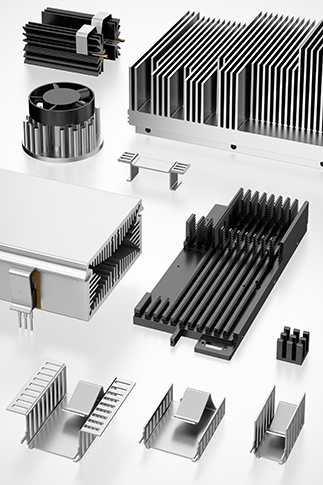 Product group heat sink