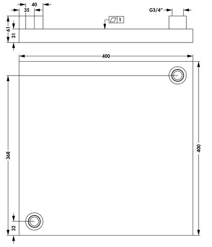home fischerelektronik produkt flki 400 g 400. Black Bedroom Furniture Sets. Home Design Ideas
