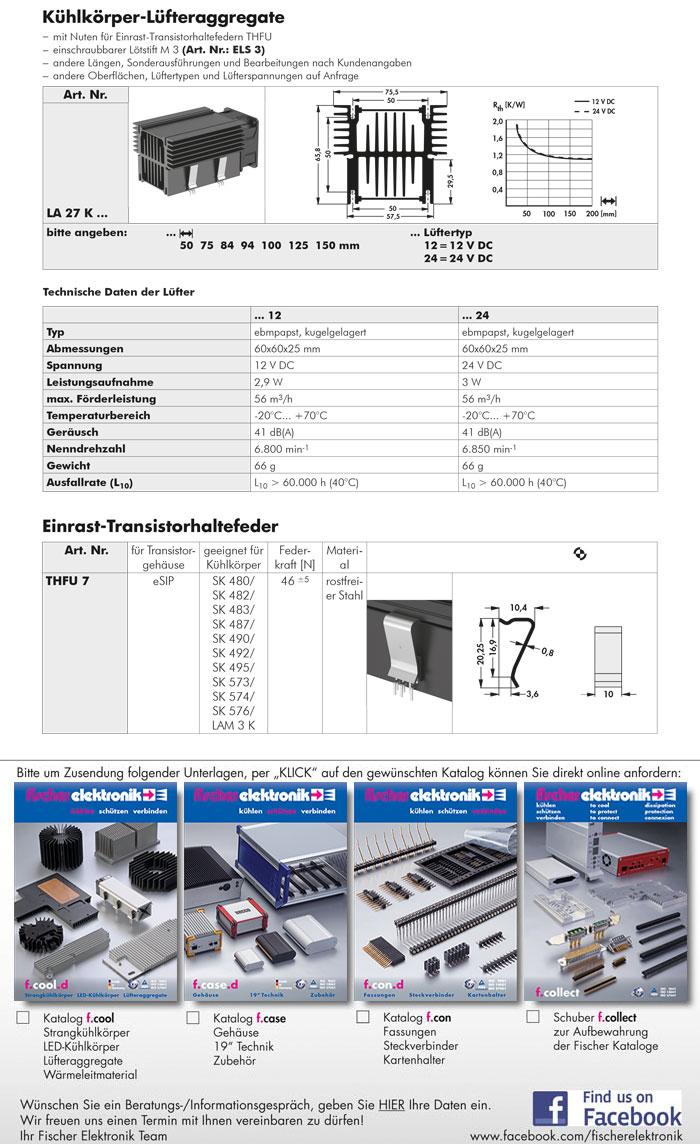 03 k hlk rper f r l fteraggregate la 27 k einrast transistorhaltefeder thfu 7. Black Bedroom Furniture Sets. Home Design Ideas